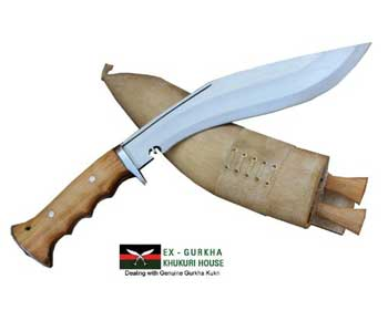 Genuine-Gurkha-Hand-Forged-Kukri-10-inch-Blade-Authentic-British-Gurkha-Iraqi-Operation