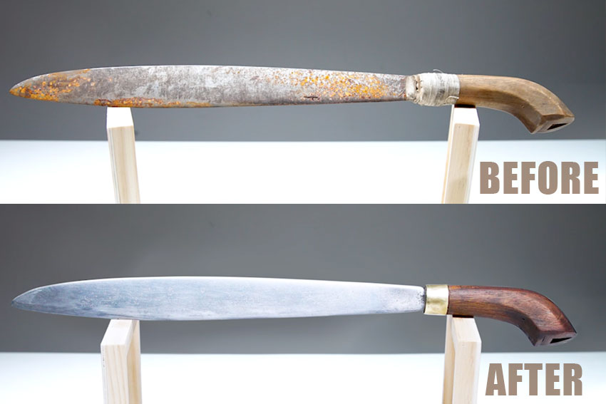 How-to-clean-rust-from-machetes